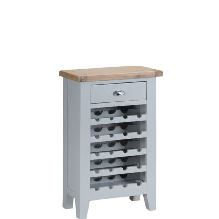 Toulouse Grey Wine Cabinet